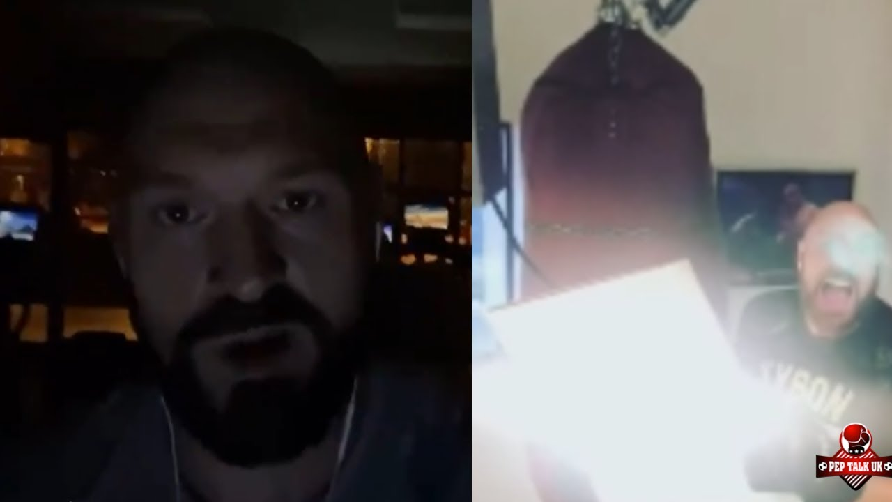 TYSON FURY TRAINING 'NIGHT AND DAY' FOR JOSHUA IN QUEST TO BE UNDISPUTED KING IN 2021!