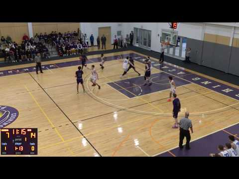 Cushing Academy - Varsity Boys Basketball vs. Northfield Mount Hermon School