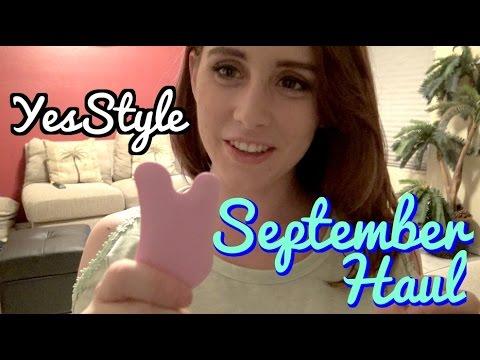 YesStyle.com September Haul