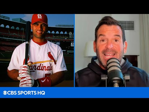 Former Marlins President Explains Why Albert Pujols LIED About his Age  CBS Sports HQ