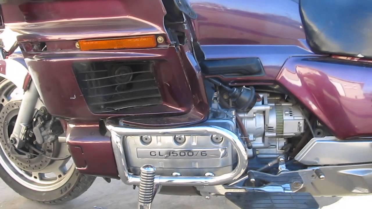 (1990)-2000 HONDA GOLDWING 1500 GL1500 MOTOR AND PARTS FOR ...