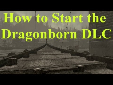 Skyrim Dragonborn DLC: How to Start the Dragonborn DLC Questline