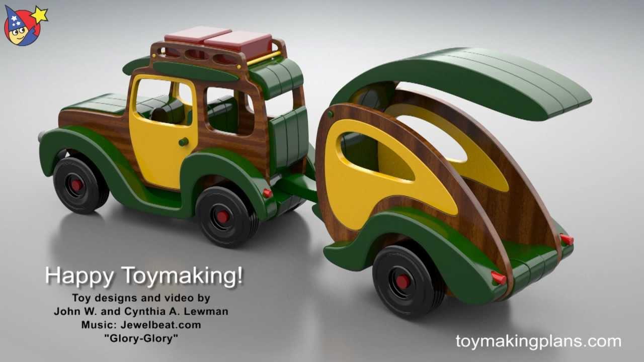 wood car toys plans