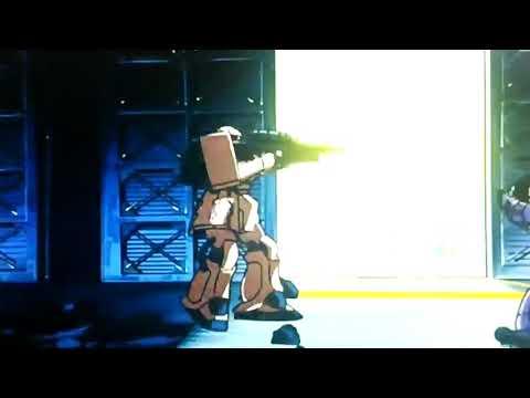 0083でF2ザクがドムトローペンに斬られるシーン