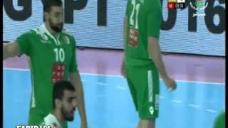 المقابلة كاملة :  الجزائر 34 جمهورية الكونغو 25 - كاس افريقيا لكرة اليد -