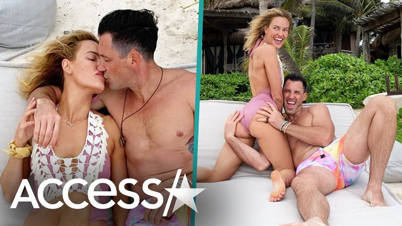 Peta Murgatroyd And Maksim Chmerkovskiy Post Steamy Snaps & Videos From PDA-Filled Birthday Vacation