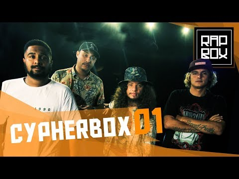 CypherBox 1 - Diomedes Chinaski, Nissin, Baco Exu do Blues & Rapadura -