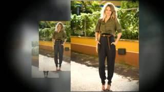 видео Брюки-бананы для женщин