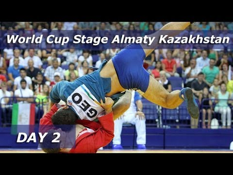 Sambo World Cup Stage Almaty Kazakhstan 2014. Amount of the 2 day