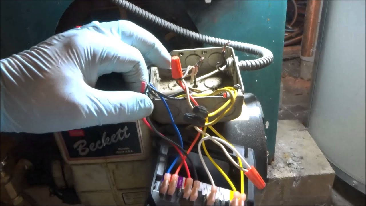 Forced Air Furnace Wiring Diagram Beckett Oil Burner Will Not Run Youtube