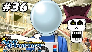 Phoenix Wright: Ace Attorney JFA w/ Noby - EP36 - She Is BACK!! (VN Adventure - Blind)