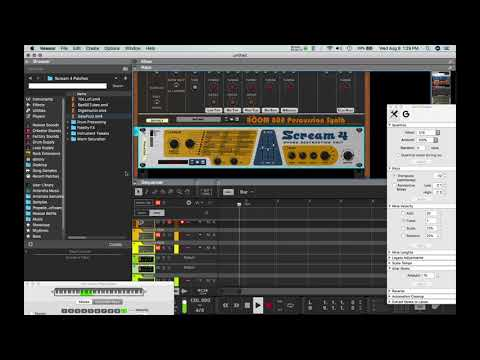 Boom 808 Percussion Synth | Reason Rack Extension