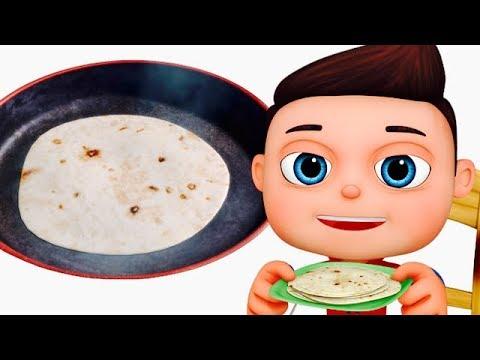 Mummy Ki Roti Gol Gol | मम्मी की रोटी गोल गोल | Hindi Rhymes Collection | Balgeet | हिन्दी कविता