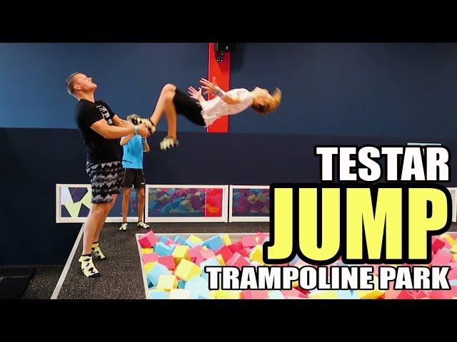 Testar JUMP Örebro *med Fr33flippers*