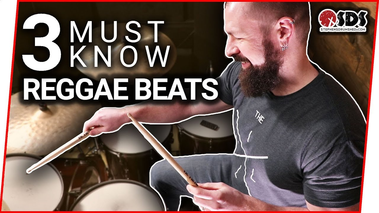 3 Reggae Drum Beats Every Drummer Should Know | Reggae Drums | Stephen  Taylor Drum Lesson