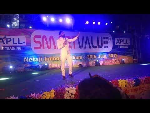 Smart Value Recognition Program Netaji Indoor Stage Training King Of Bikash Ghosh
