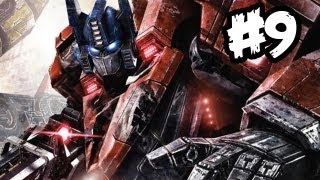 Transformers Fall of Cybertron - Gameplay Walkthrough - Part 9 - TRIPLE JAM!! (Xbox 360/PS3/PC)