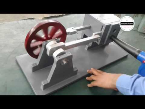 Wooden Air ENGINE mechanical engineering projects for students