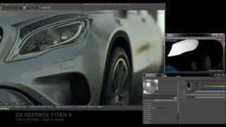 Video C4d Octane realtime test / 2X Geforce Titan X download MP3, 3GP, MP4, WEBM, AVI, FLV Oktober 2018