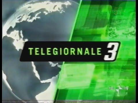 """Raitre - """"Tg3"""" Edizione notte - 28 Dicembre 2001 #HD720/50p"""
