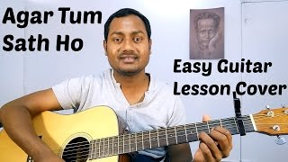 Agar Tum Sath Ho | Arijit Singh | Easy Guitar Lesson | Chords | Strumming | Cover | Mayoor