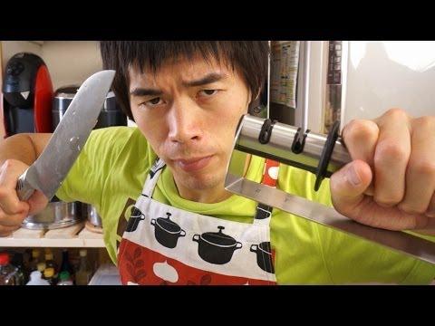 包丁の切れ味が新品並によくなるステンレス用包丁研ぎ器 | knife sharpen
