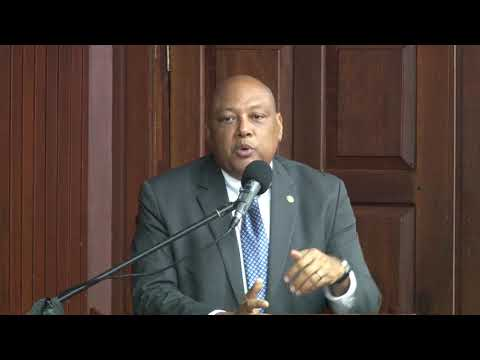 Minister Trotman on Petroleum Agreement between Government of Guyana and ExxonMobil.