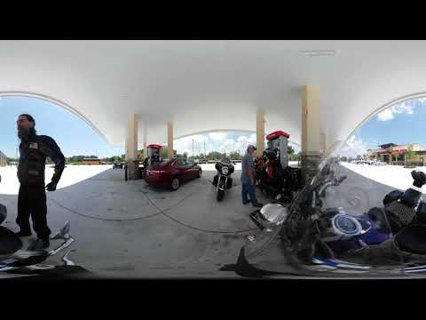 "Video 360 Bike Ride ""Mezzaluna Pizzeria in Palm Coast"" 05/30/19"