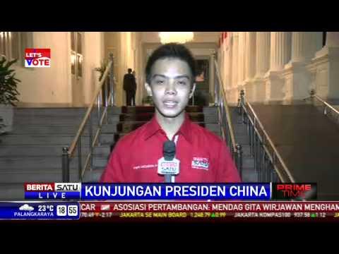 LIVE - Presiden Sambut Presiden Cina