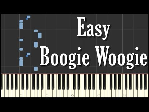 Easy Boogie Woogie Piano Tutorial - FREE SHEET MUSIC