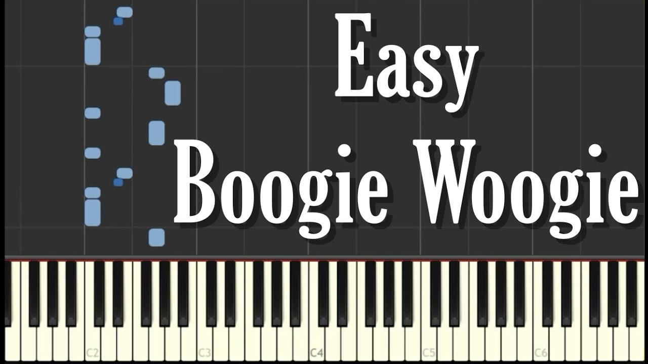 Easy Boogie Woogie Piano Tutorial Free Sheet Music
