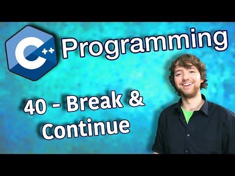 C++ Programming Tutorial 40 - Break and Continue thumbnail
