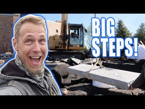 Recreation POND With HUGE Steps: Christ Community Church - Part 2