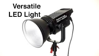 Versatile Video Light: Aputure Light Storm COB 120d LED Light Review