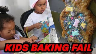 My kids made THE WORST EASTER CAKE EVER! Then I ate it...