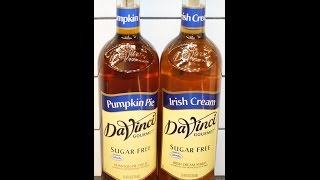 Davinci Gourmet Sugar Free: Pumpkin Pie & Irish Cream Syrup Review