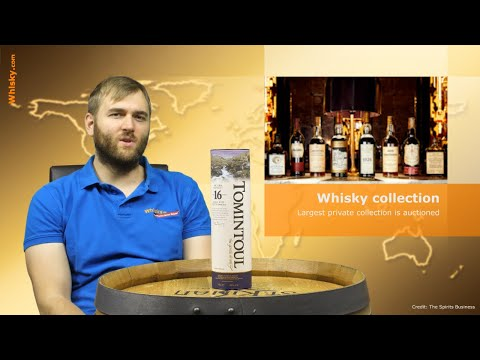 Whisky.com News: Largest Private Whisky Collection Is Auctioned