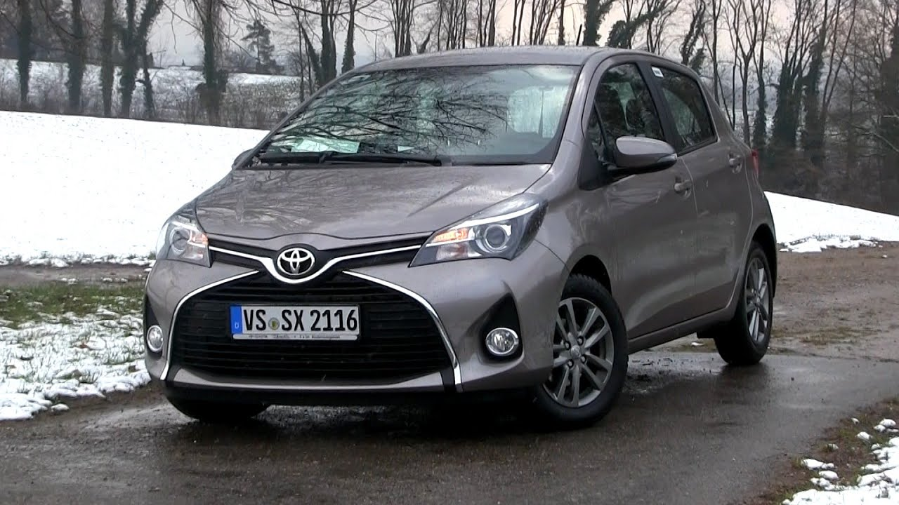 2016 toyota yaris dual vvt i 99 hp test drive youtube. Black Bedroom Furniture Sets. Home Design Ideas