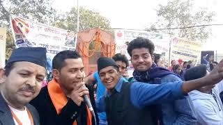 Pappu Karki Last Stage Show in Delhi Yamuna Ghat Wazirabad,  Heera Samdhani