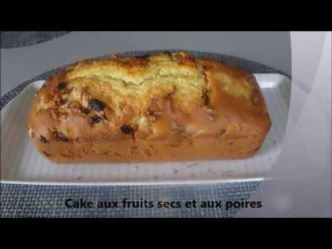 cake-aux-fruits-secs-et-aux-poires