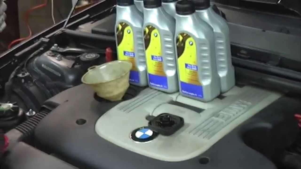 Объем масла в дизеле бмв е60