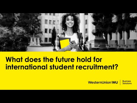 What does the future hold for international student recruitment? (paid partnership)