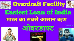 What is Overdraft Loan | Easy Overdraft Loan for  any propose