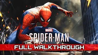 SPIDER-MAN PS4 – Full Gameplay Walkthrough / No Commentary 【1080p HD / Full Game】
