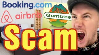 The Booking.com / Gumtree SCAM - Flat Rental - London but done Globally - Beware of the Fraudsters!