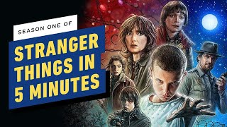Download Stranger Things Season 1 In 5 Minutes Mp3 and Videos