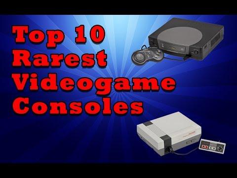 Top 10 Rarest  Videogame Consoles