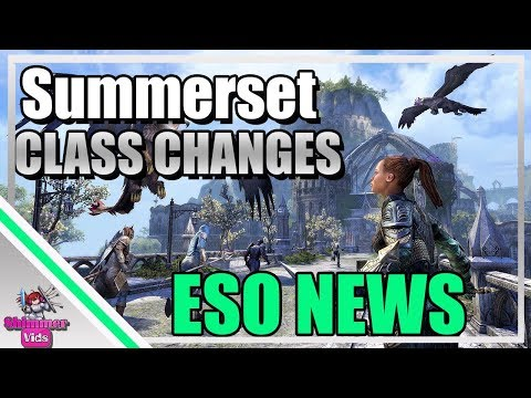 media] Summerset Class Changes : elderscrollsonline