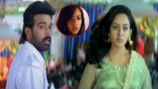 Soundarya Slaps Jd Chakravarthy Interesting Scene  | Premaku Swagatham | Silver Screen Movies
