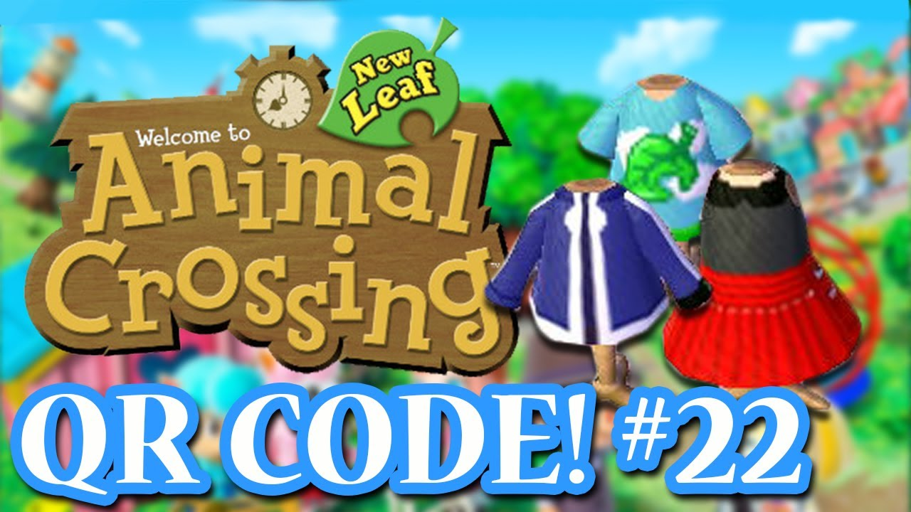 Leather jacket qr code new leaf - Animal Crossing New Leaf Qr Codes Subscriber Special 2 Part One Episode 22 1 000 Subs